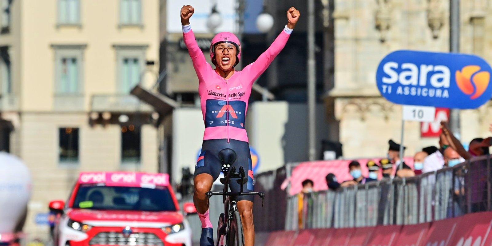 Egan Bernal vince giro d Italia
