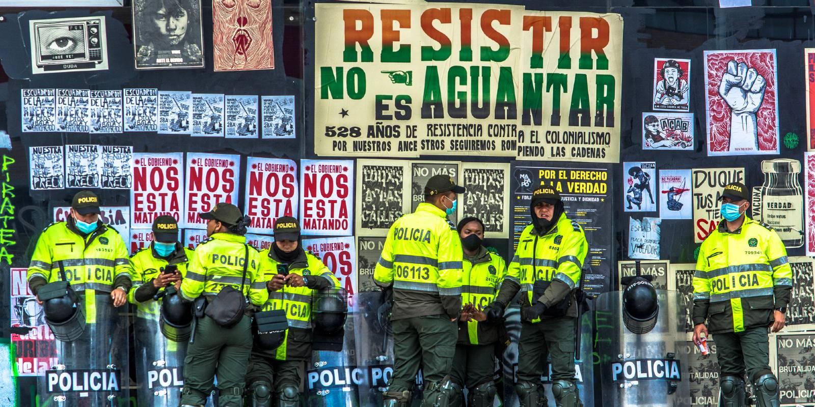 manifestazioni Colombia giugno