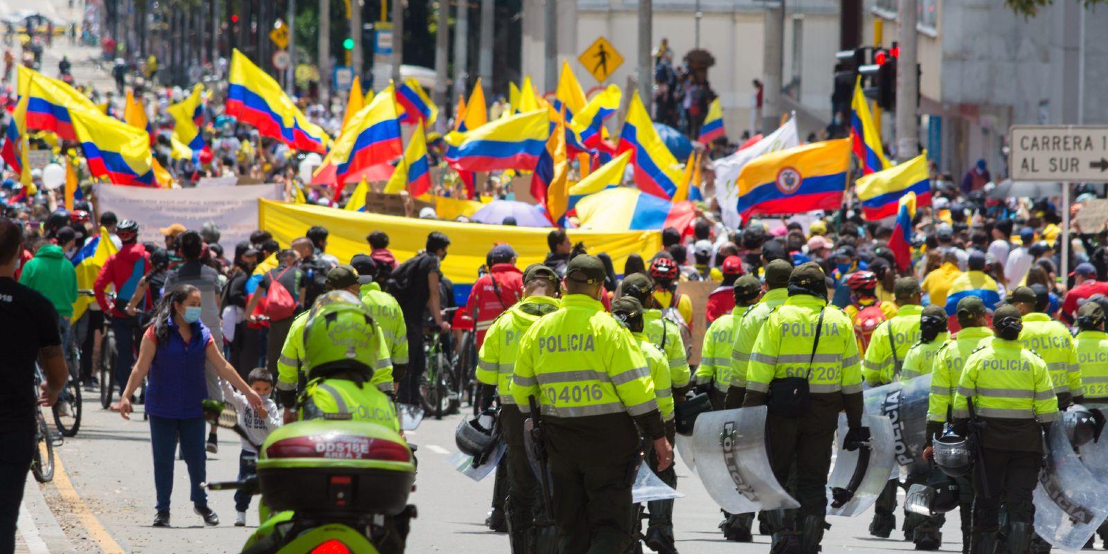 proteste Colombia paro sciopero manifestazioni