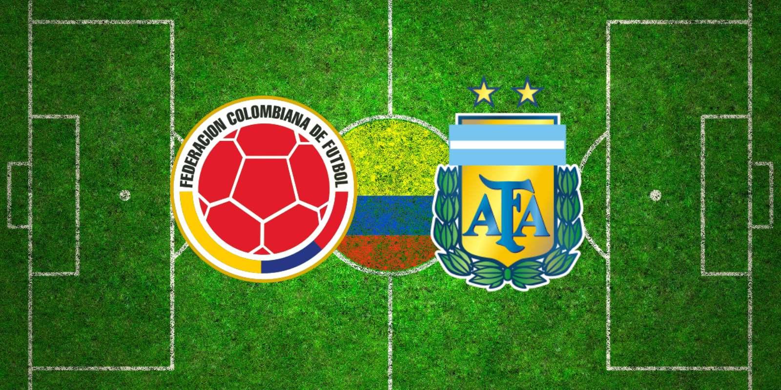 Dove vedere Colombia Argentina