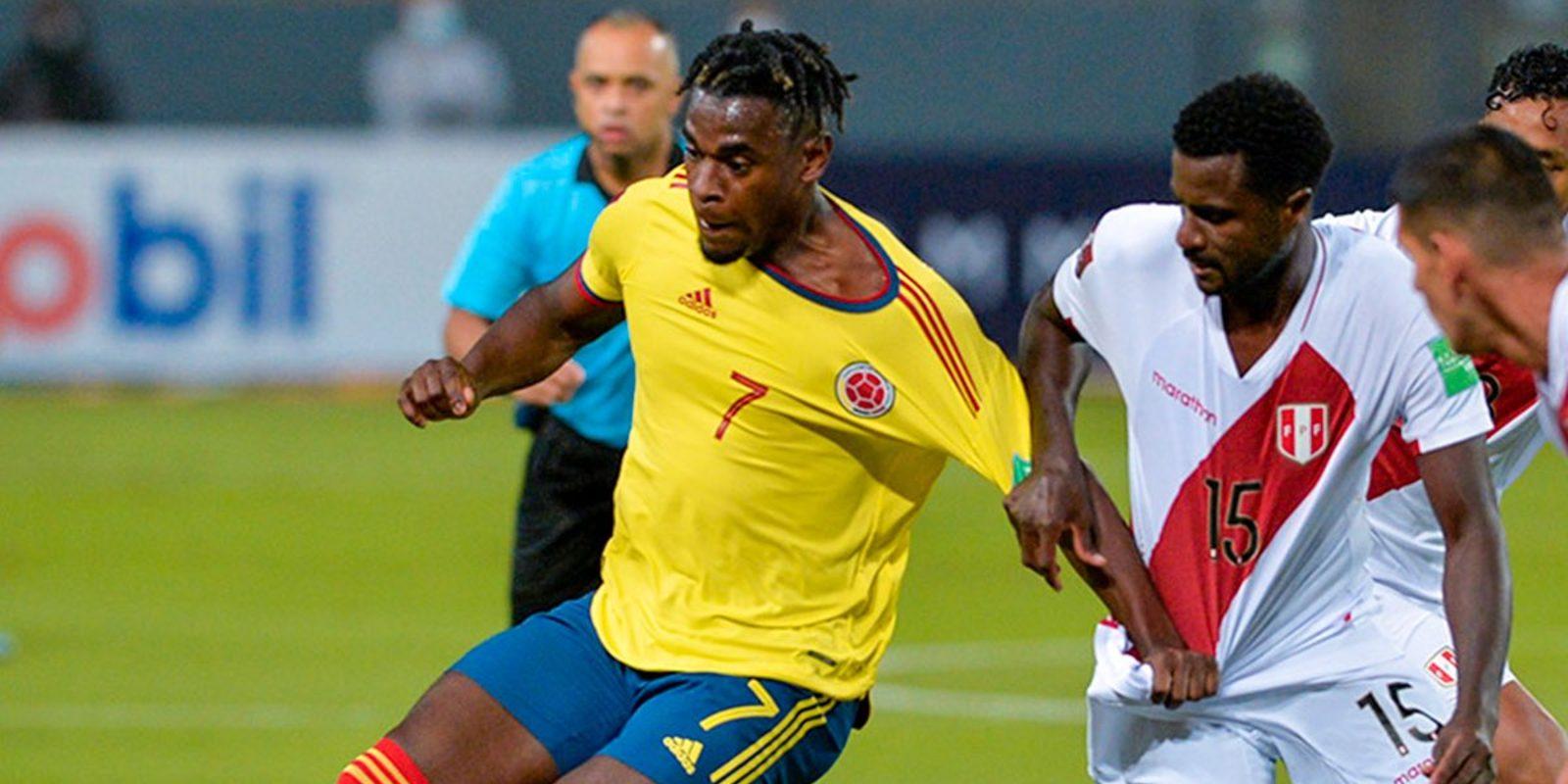 Peru Colombia tabellino